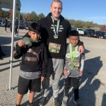 Eugene Ware students and counselor participated in Let Me Run 5K